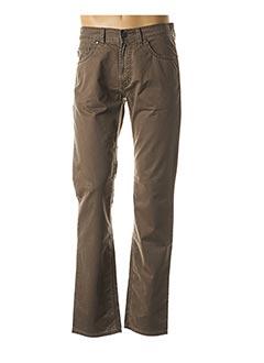 Pantalon casual marron PIONIER pour homme