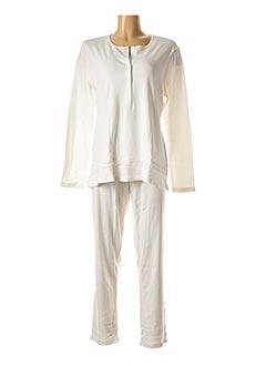 Pyjama beige BISBIGLI pour femme
