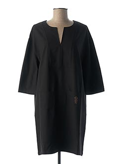 Robe courte noir DIPLODOCUS pour femme