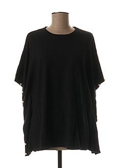 Pull tunique noir MOLLY BRACKEN pour femme