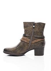 Bottines/Boots marron MARCO TOZZI pour femme seconde vue