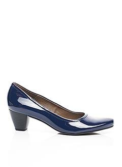 Escarpins bleu CONNIVENCE pour femme