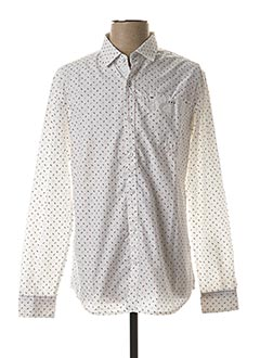 Chemise manches longues blanc LEE COOPER pour homme