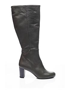 Bottes gris D'ALESSANDRO pour femme