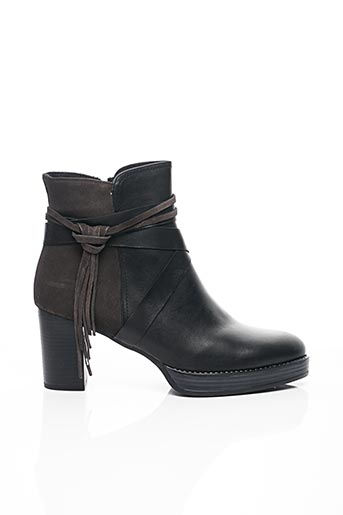 Bottines/Boots noir CRESSY pour femme