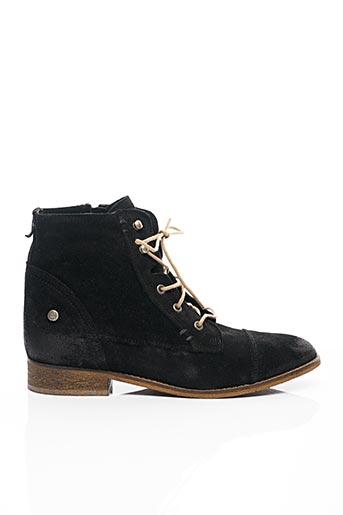 Bottines/Boots noir ISTOME pour femme