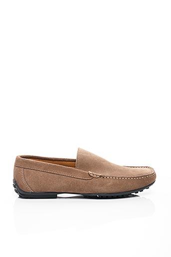 Chaussures bâteau marron BAXTON pour homme
