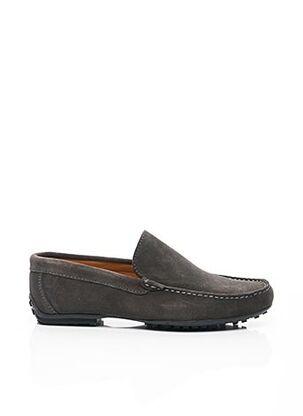 Chaussures bâteau gris BAXTON pour homme