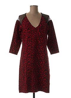 Robe pull rouge JUS D'ORANGE pour femme
