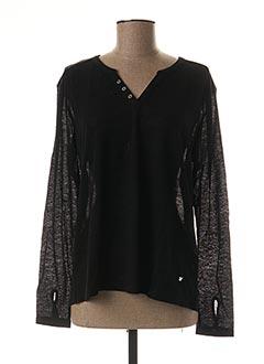T-shirt manches longues noir KATMAI pour femme