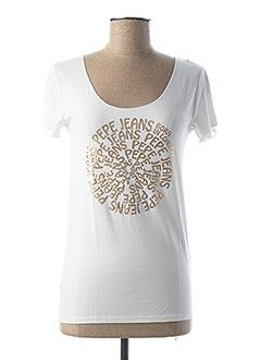 Produit-T-shirts-Femme-PEPE JEANS