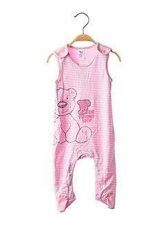 Pyjama rose BEMBI pour fille