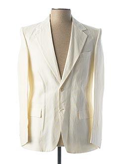 Veste chic / Blazer beige PATRIZIO LIPPOLIS pour homme
