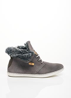 Bottines/Boots gris EQUAL FOR ALL pour homme