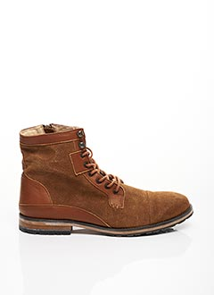 Bottines/Boots marron EQUAL FOR ALL pour homme