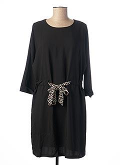 Robe mi-longue noir CHATTAWAK pour femme