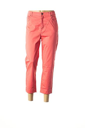 Pantalon 7/8 orange IMPAQT pour femme
