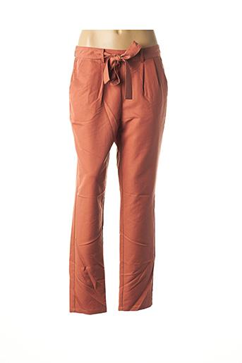 Pantalon casual marron DIANE LAURY pour femme