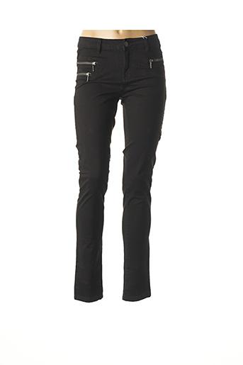 Pantalon casual noir FRANSA pour femme
