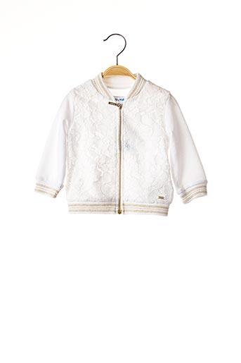 Veste casual blanc MAYORAL pour fille