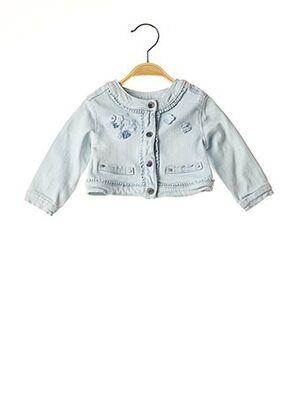 Veste en jean bleu MAYORAL pour fille