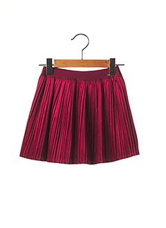 Jupe mi-longue rouge MAYORAL pour fille