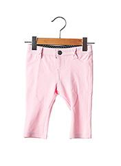 Pantalon casual rose WEEK END A LA MER pour fille seconde vue
