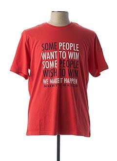 T-shirt manches courtes rouge NORTH SAILS pour homme