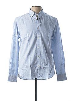 Chemise manches longues bleu NORTH SAILS pour homme