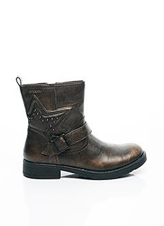 Bottines/Boots marron GEOX pour fille