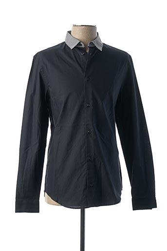 Chemise manches longues bleu CARVEN pour homme