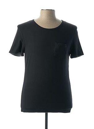 T-shirt manches courtes noir PAUL & JOE pour homme