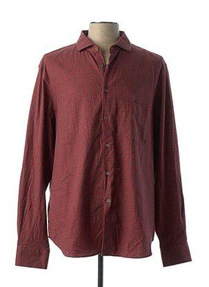 Chemise manches longues rouge PAUL SMITH pour homme