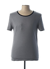 T-shirt manches courtes noir PAUL & JOE pour homme seconde vue