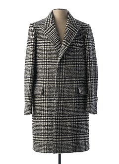 Manteau long noir IRO pour homme