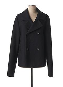 Manteau court bleu JIL SANDERS pour femme