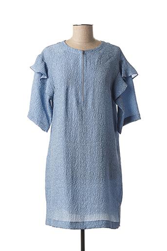 Robe courte bleu PAUL & JOE pour femme