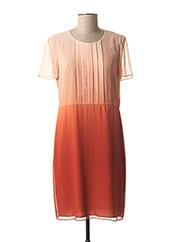 Robe mi-longue rose BURBERRY pour femme seconde vue