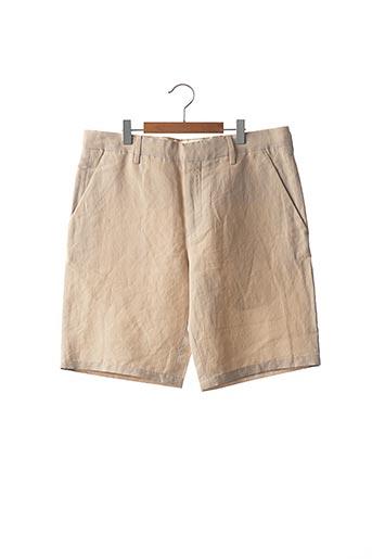 Short beige PAUL SMITH pour homme
