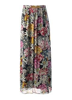 Jupe longue noir BURBERRY pour femme
