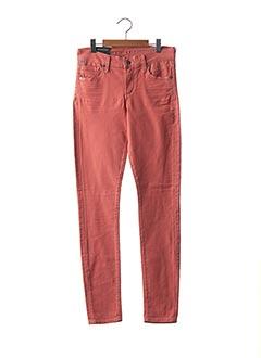 Pantalon 7/8 orange CITIZENS OF HUMANITY pour femme