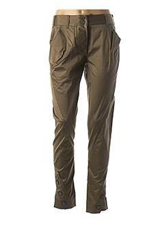 Pantalon 7/8 vert VIVIENNE WESTWOOD pour femme