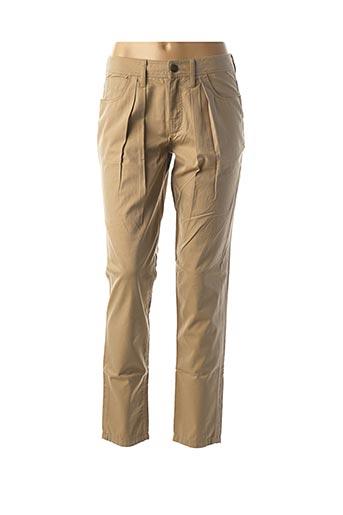 Pantalon chic beige BURBERRY pour femme