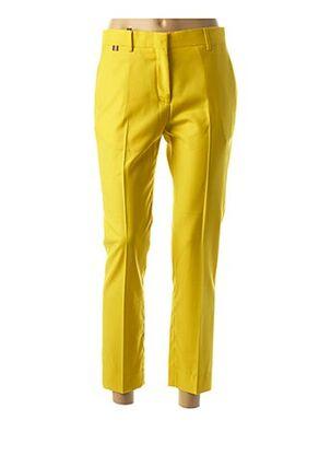 Pantalon 7/8 jaune PAUL SMITH pour femme