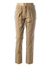 Pantalon chic beige BURBERRY pour femme seconde vue