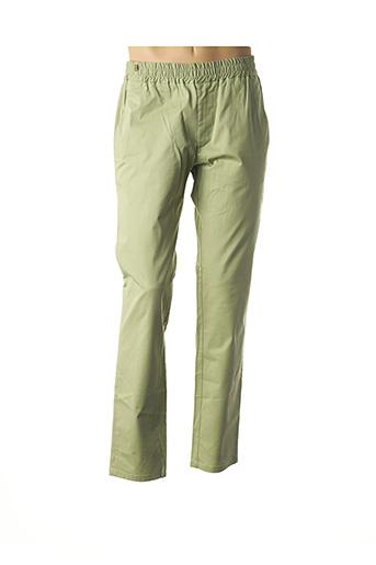 Pantalon casual vert ATELIER NOTIFY pour homme