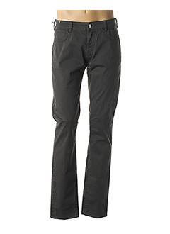Pantalon casual gris ATELIER NOTIFY pour homme