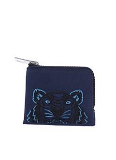 Porte-monnaie bleu KENZO pour homme
