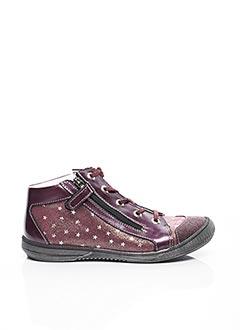 Baskets violet BELLAMY pour fille