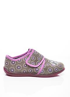 Chaussons/Pantoufles gris BELLAMY pour fille